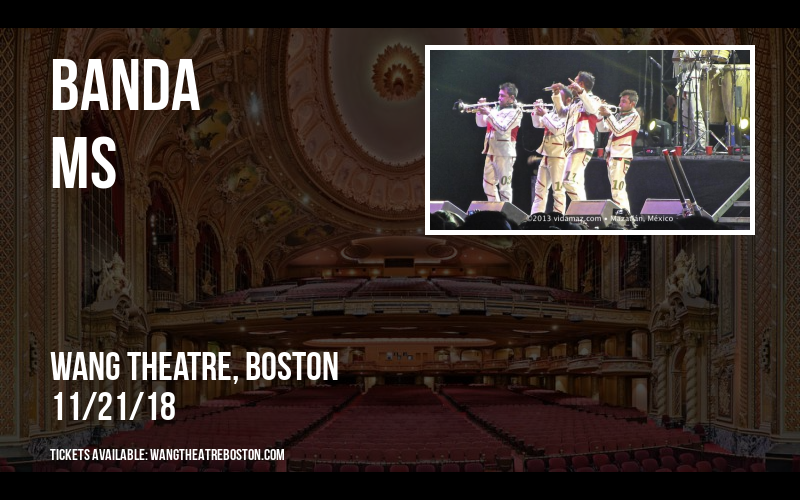 Banda MS at Wang Theatre
