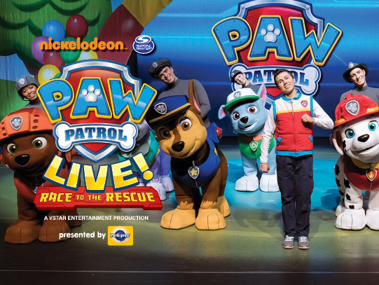 PAW Patrol Live at Wang Theatre
