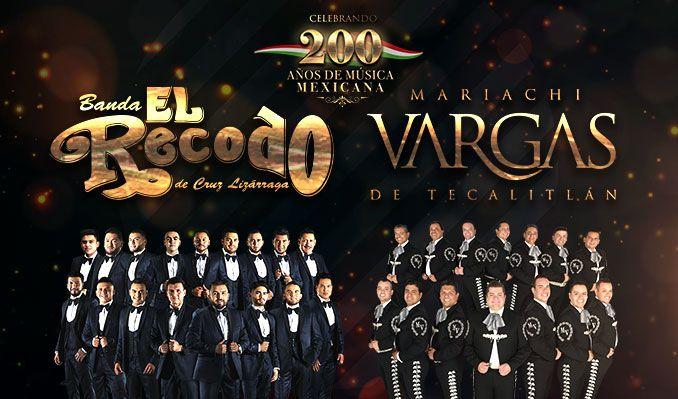 200 Anos De Musica Mexicana: Banda El Recodo & Mariachi Vargas de Tecatitlan at Wang Theatre