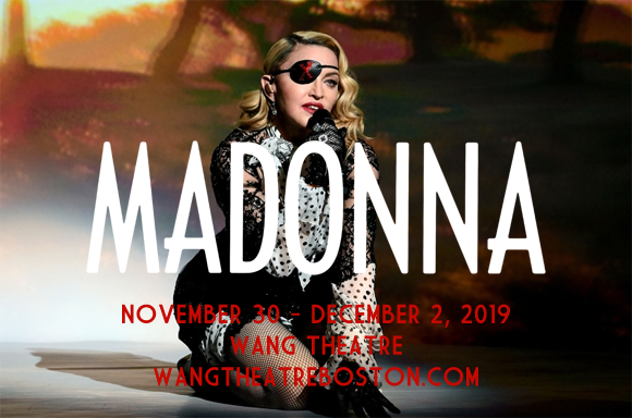 Madonna at Wang Theatre