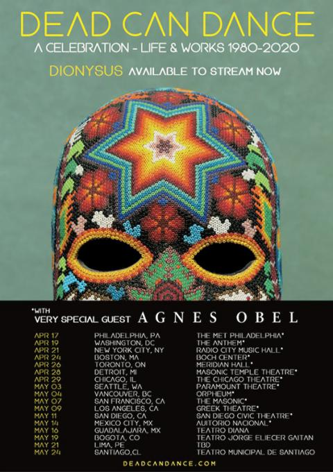 Dead Can Dance & Agnes Obel at Wang Theatre