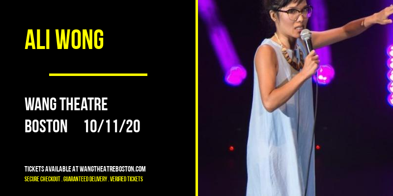 Ali Wong [CANCELLED] at Wang Theatre