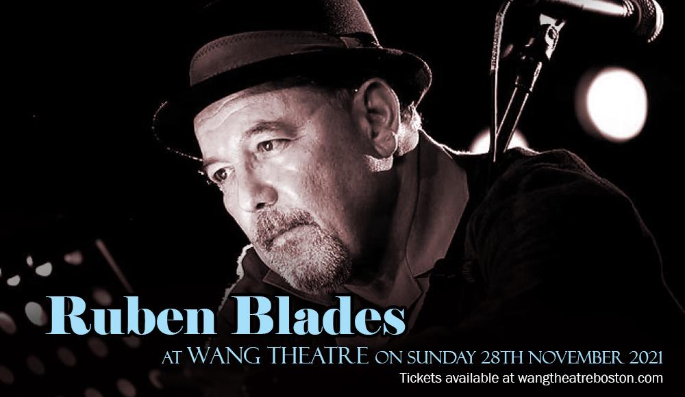 Ruben Blades at Wang Theatre