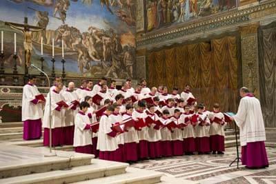 Sistine Chapel Choir at Wang Theatre