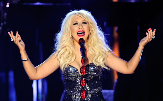 Christina Aguilera at Wang Theatre