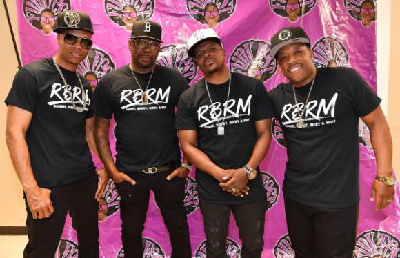 RBRM: Ronnie DeVoe, Bobby Brown, Ricky Bell & Michael Bivins at Wang Theatre