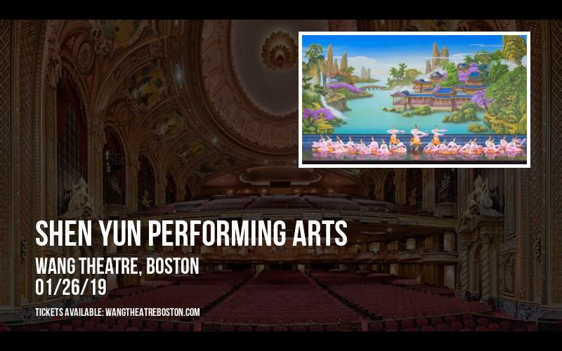 Shen Yun Performing Arts at Wang Theatre