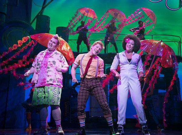 SpongeBob - The Musical at Wang Theatre