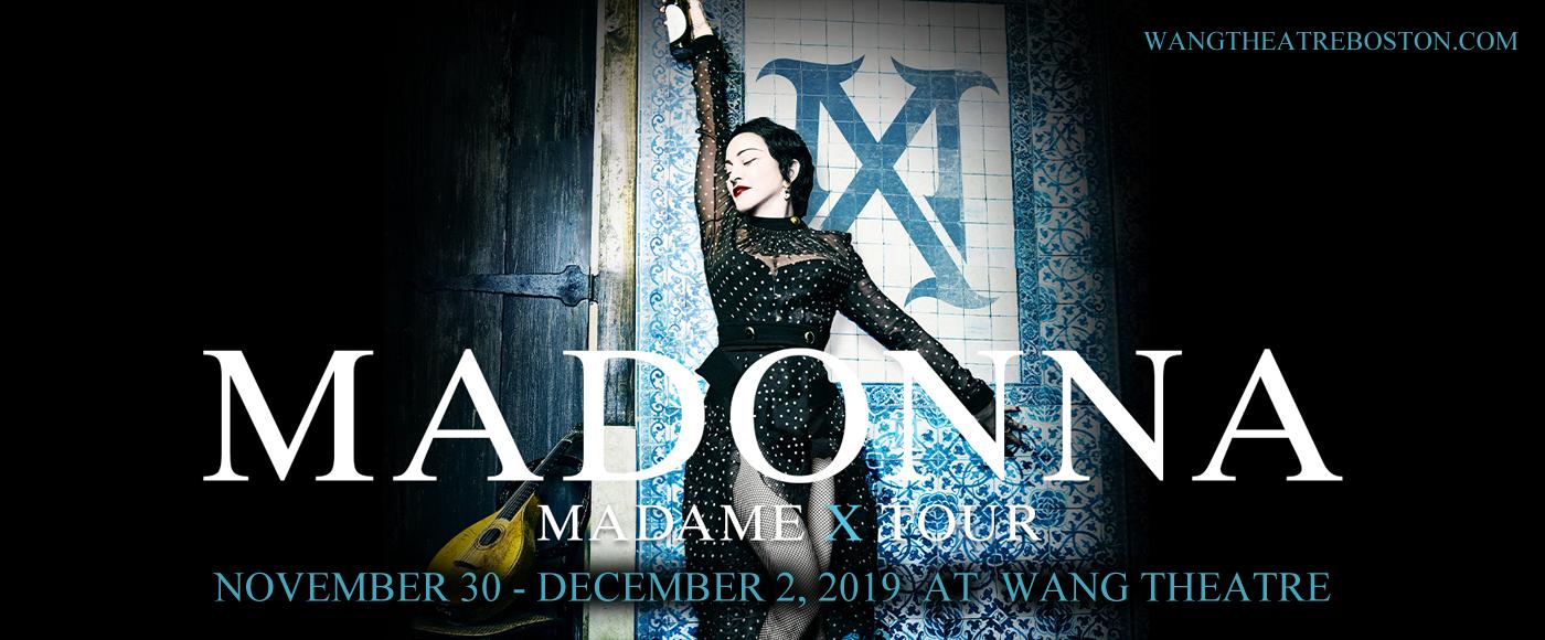 Madonna at Wang Theatre