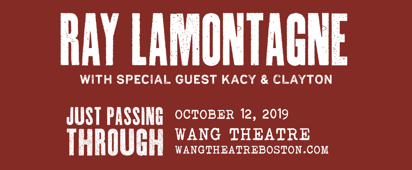 Ray LaMontagne at Wang Theatre