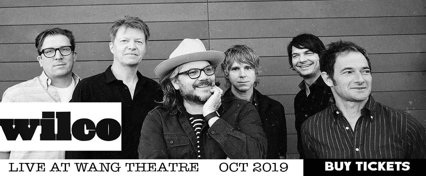 Wilco at Wang Theatre