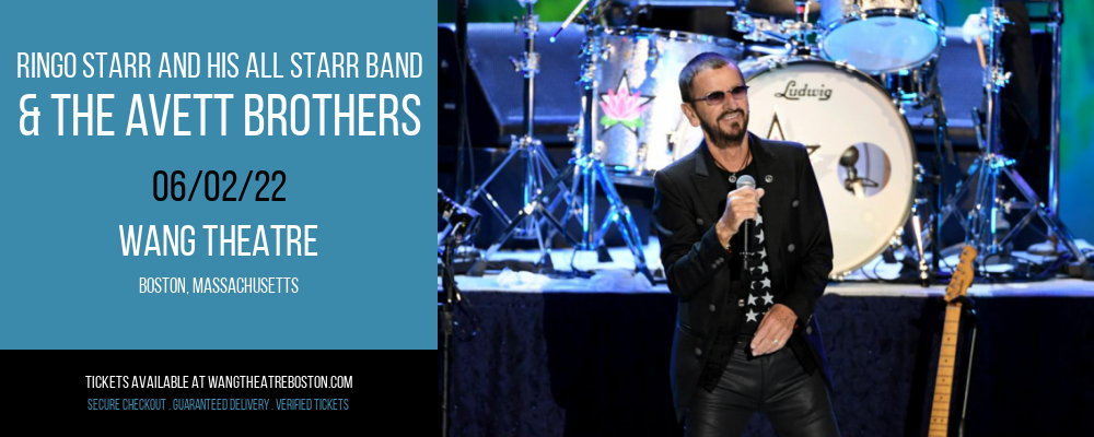 Ringo Starr and His All Starr Band & The Avett Brothers at Wang Theatre