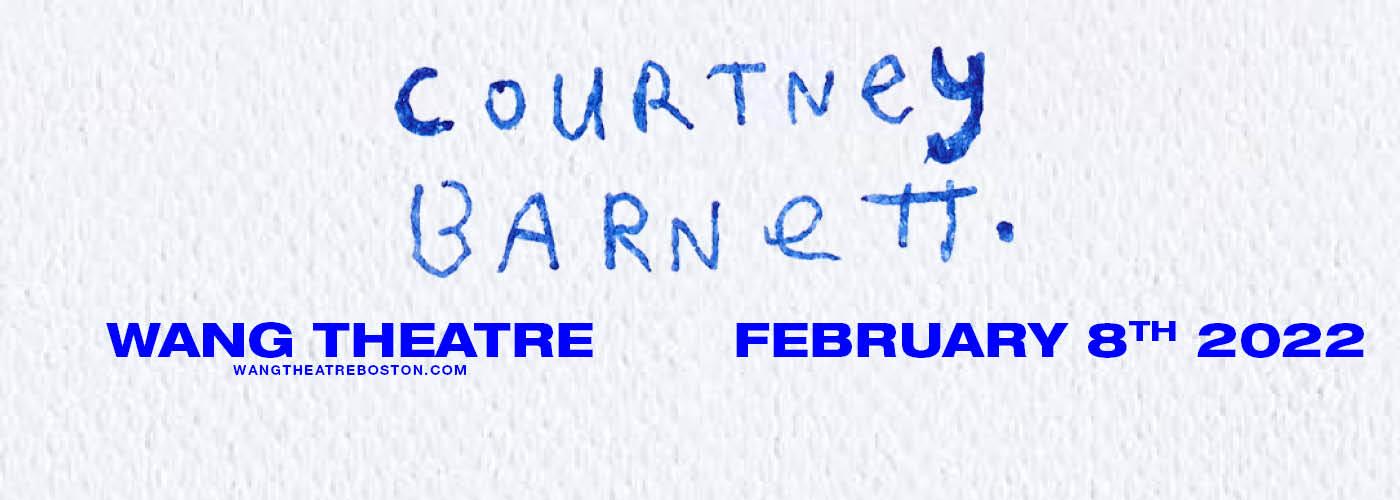 Courtney Barnett at Wang Theatre