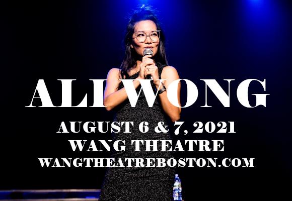 Ali Wong at Wang Theatre
