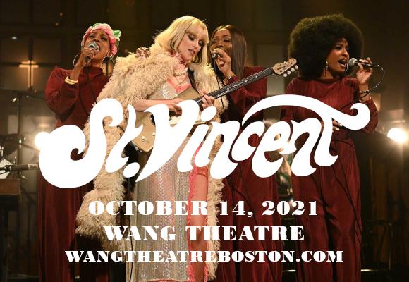 St. Vincent at Wang Theatre