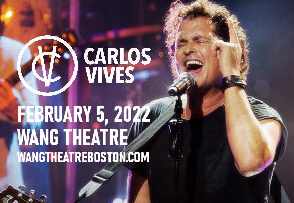 Carlos Vives at Wang Theatre